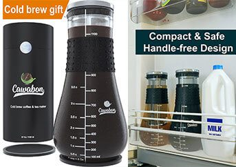 Cawabon Cold Brew Ice Tea and Coffee Maker