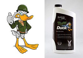 Tuff Duck Granite, Grout and Marble Sealer 1 Quart Stone Tile